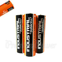 3 x Duracell AA batteries Industrial Procell Alkaline LR6 MN1500 MIGNON