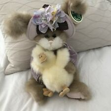 The Bearington Collection # 4157- Donna & Duck Collectible Plush Bunny Rabbit.
