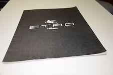 1990s Etro Fashion Catalog Italy Vogue Mens & Ladies Clothing Boutique Mailer