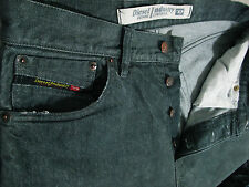 *AUTHENTIC DIESEL @ KRATT 804 Relaxed STRAIGHT GREY Jeans 32 x 32  (Fit 31 x 32)