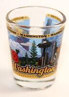 WASHINGTON STATE WRAPAROUND SHOT GLASS SHOTGLASS