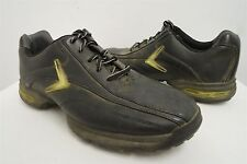 Callaway Chev Black Comfort Oxfords Golf Shoes Cleats Spikes 9M /42 eur mens#040