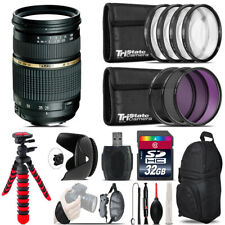 Tamron 28-75mm Lens for Canon + Macro Filter Kit & More - 32GB Accessory Kit