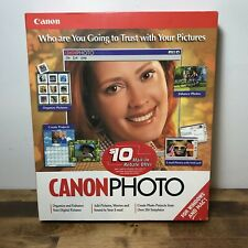 New Old Stock Canon photo Software Factory Sealed In Box Windows And Mac Vintage
