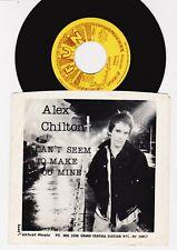 """ALEX CHILTON  Bangkok //  ORIGINAL 1978 US 7"""" w/PS VG+/M-!"""