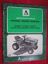 1979 ALLIS CHALMERS 808GT, 811GT, & 816GT LAWN & GARDEN TRACTOR OPERATORS MANUAL