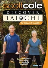 SCOTT COLE DISCOVER TAI CHI FOR BALANCE AND MOBILITY New Sealed DVD