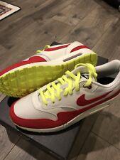 Nike Nikeid Air Max 1 Anniversary OG Red Off White Supreme Mens 12