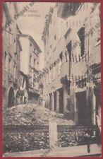 TREVISO CITTÀ 97 ROVINE 1a GUERRA Cartolina viaggiata 1938