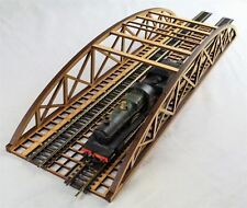 OO Gauge Double Track Bowstring Bridge by WWS – Model Railway MDF Scenery