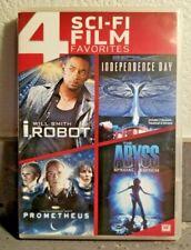 Sci-Fi Film Favorites 4 Films (4 Dvd Set + Digital) Titles Below Ln