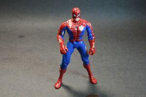 """Battle Damaged Spider-Man Marvel 1995 ToyBiz 5"""" Figure no Weapons"""