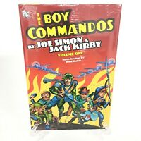 The Boy Commandos Volume 1 Simon & Kirby DC Comics HC Hard Cover New Sealed