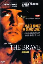 The Brave (1997) Johnny Depp, Marlon Brando DVD *NEW