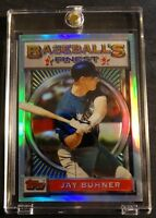 1993 JAY BUHNER TOPPS FINEST REFRACTOR #124 SEATTLE MARINERS (716)