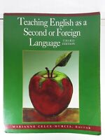 Teaching English as a Second or Foreign Language, Third Edition, Good Condition