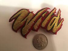 "Minnesota Wild Vintage RARE Embroidered Iron On Patch 3.5"" X 2"""
