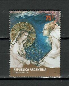 s24782) ARGENTINA 2001 MNH** Christmas 1v
