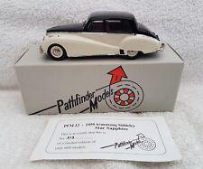 PATHFINDER MODELS PFM12 1959 ARMSTRONG SIDDELEY STAR SAPPHIRE, 1/43, blk/white