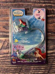 NEW Disney The Little Mermaid Book Light Computer Light Back Pack Light Gift Kid