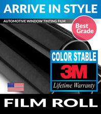 """3M COLOR STABLE 50% VLT 30"""" x 78"""" WINDOW TINT ROLL 76.2cm x 198.12cm"""