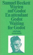 SAMUEL BECKETT Warten auf Godot - En attendant Godot - Waiting for Godot TB