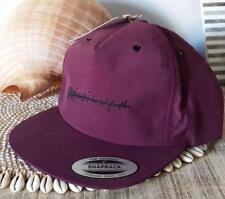 QUIKSILVER Mens Signature Plum Waterman Hat Cap logo to front Snapback NEW 4db51453486f
