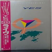 YES 9012 LIVE THE SOLOS ATCO P-6224 Japan OBI VINYL LP
