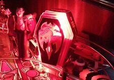MONSTER BASH Pinball Red Flashing COFFIN Light Mod MB