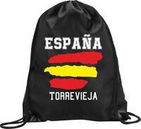 BACKPACK BAG TORREVIEJA SPAIN GYM HANDBAG FLAG SPORT