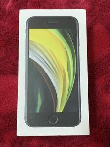 Apple iPhone SE 2 (2020) 64gb Schwarz Entsperrt-Apple Garantie August 2021