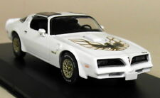 Greenlight 1/43 Scale 1977 Pontiac Firebird Trans Am White Diecast Model Car