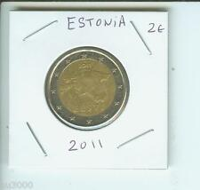 2011 2€ ESTONIA 2 Euro Bimetallic Coin !!!!