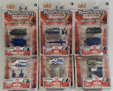 TRANSFORMERS : CYBERTRON SERIES SET OF 6 TRAIN TRANSFORMERS (DJ)