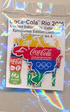 Rio 2016 Coca-Cola Olympic Pin