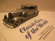"Danbury Mint.Pewter Diecast,1/43 ""1932 Chrysler Lebaron Imperial"" Auto Model"