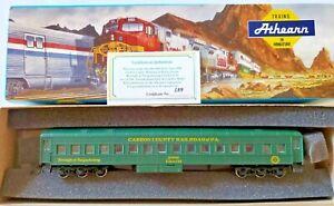 HO Athearn Carbon County Railroad of Pennsylvania Nesquehoning Coach