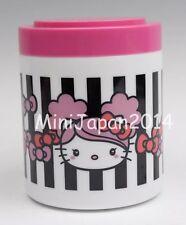 Hello Kitty x Peach Jones jar cup with lid Original Sanrio Kuji Japan