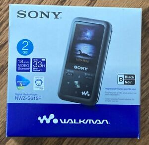 Sony - Walkman Digital Media Player #NWZ-S615F 2GB, Black