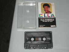 Ella Fitzgerald - The Best of Ella (Cassette, Tape) Working Tested