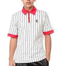 New! Fila Retro Bjorn Borg M VINTAGE Settanta MK1 Red Polo Shirt Tennis M