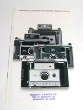 EX COND! 1969 Polaroid 320, 330, 340, 350, Camera Sales Catalog Brochure Ad
