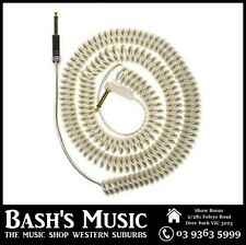 VOX VCC090 Silver Coiled Guitar Cable 9 Metres with Bag