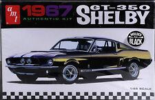 AMT  Carroll Shelby 1967 Ford Mustang GT-350 (black) plastic model kit 1/25