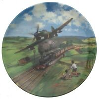 Heroes Of The Sky Plate Royal Doulton Tempest Racing Home Aircraft Plate CP676