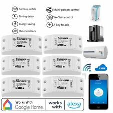 6pcs Sonoff Smart Home WiFi Wireless Switch Module For Apple Android APP Control