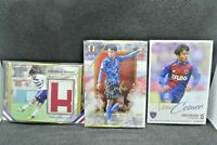 Takefusa Kubo Soccer Card 3 set