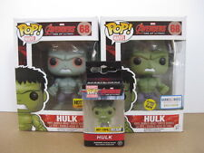 Funko Pop! Pocket Keychain Hulk Avengers Age of Ultron EXCLUSIVES (Set of 3)