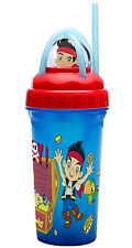 JAKE AND THE NEVERLAND PIRATES CURLEY STRAW CUP
