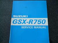 Suzuki GSX-R 750 Modelljahr 1995  Wassergekühlt Sevice Manual